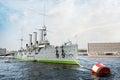 Aurora cruiser, Saint-Petersburg, Russia Royalty Free Stock Photo