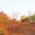 Auroville statue park india Royalty Free Stock Photo