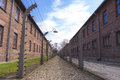 Auschwitz concentration camp was a network of german nazi camps and extermination camps built and operated by the Stock Photo