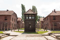 Auschwitz Guard House Royalty Free Stock Photo