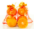 Auspicious orange Royalty Free Stock Photography