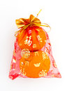 Auspicious orange Royalty Free Stock Images
