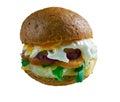Aussie Burger Royalty Free Stock Photo