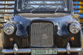 Austin Classic Taxi Cab Vintage Car Royalty Free Stock Photo