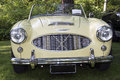 Austin healey a classical sports car known as the big healeys Stock Photography