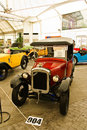 Austin Seven, Vintage cars on display in Fut Stock Image