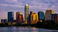 Austin Texas Cityscape at Sunrise Golden Hour skyline Royalty Free Stock Photo