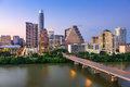 Austin texas Skyline Royalty Free Stock Photo