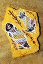Australia aboriginal art Stock Image