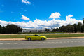 Australia Canberra Car Captital Parliment Royalty Free Stock Image