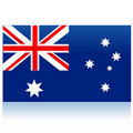 Australia flag Royalty Free Stock Photos