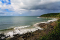 Australia noosa coastline coast resort landscape Stock Photo