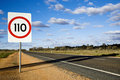 Australia road sign Royalty Free Stock Photo