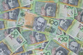 Australian $100 Notes Royalty Free Stock Photo