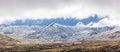 Australian Alps covered in Snow - Kosciuszko National Park, Australia Royalty Free Stock Photo
