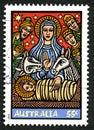 Australian Christmas Postage Stamp