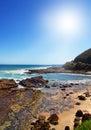 Australian coast Royalty Free Stock Photos