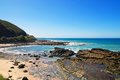 Australian coast Royalty Free Stock Photo