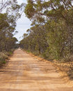 Australian Country Bush Track. Royalty Free Stock Photo