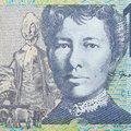 Australian currency Ten dollar note Royalty Free Stock Photo