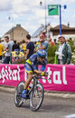 The australian cyclist jonathan cantwell illiers combray france july st from saxo bank tinkoff bank team pedaling during th Royalty Free Stock Photography