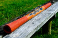 Australian Didgeridoo -Didjeridu Royalty Free Stock Photo