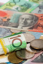 Australian Dollar banknotes Royalty Free Stock Photo