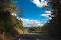 Australian mountain highway Royalty Free Stock Photo