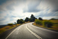 Australian mountain road Royalty Free Stock Photo