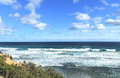 Australian ocean landscape Royalty Free Stock Photo