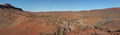 Australian outback panorama Royalty Free Stock Photo