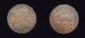 Australian rare New South Wales Penny Token Royalty Free Stock Photo