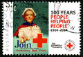 Australian Red Cross Postage Stamp