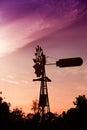 Australian windmill Royalty Free Stock Photo