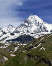 Austria's highest mountain, the Grossglockner Royalty Free Stock Photo