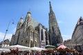 AUSTRIA, VIENNA - MAY 14, 2016: Photo of saint stephen Royalty Free Stock Photo
