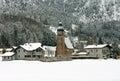 Austrian Alpine Scene Royalty Free Stock Photo