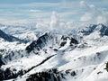 Austrian Alps mountains Royalty Free Stock Photo