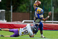 Austrian Bowl XXV - Graz Giants vs. Vienna Vikings Royalty Free Stock Photo