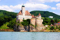 Austrian castle schonbuhel along the danube wachau valley austria Stock Photo