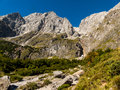 Austrian mountains in the province of salzburg in the province of salzburg Royalty Free Stock Photos