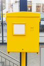 Austrian post office box Stock Photography