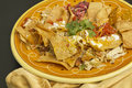 Authentic Mexican Nachos Royalty Free Stock Photo