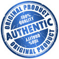 Authentic stamp Royalty Free Stock Photo