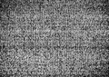 No Connection. Authentic static on a TV screen with black & white conversion. Royalty Free Stock Photo