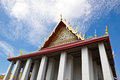 Authentic Thai Architecture in Wat Pho, Thailand Royalty Free Stock Image
