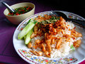 Authentic Thai food in Bangkok, Thailand Stock Photography