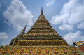 Authentieke Thaise Architectuur in Wat Pho Royalty-vrije Stock Fotografie