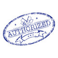 Authorized stamp Stock Photography