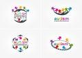 Autism awareness logo design